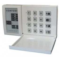 Keypad electronic keypad wireless keypad bus type for ja60k ja65k control panel set up electronic security bulglar alarm access