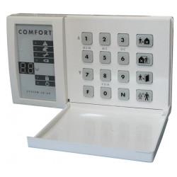 Keypad electronic keypad wireless keypad bus type for ja60k ja65k control panel set up electronic security bulglar alarm access