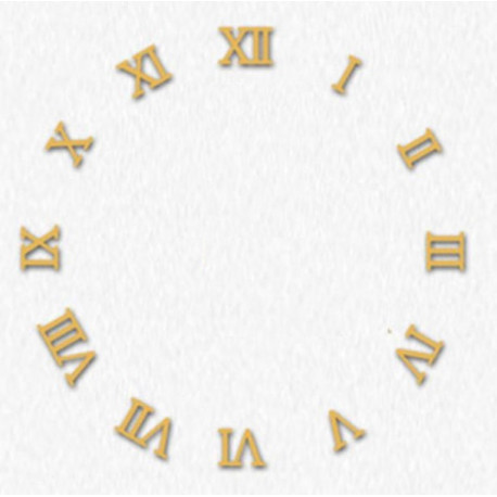 Lot 12 Roman figures for Quartz Wall Clock