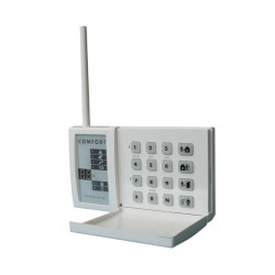 Keypad electronic wireless electronic alarm keypad for alarm control panel ja60k ja65k, 30 100m 433.92mhz access control keypad