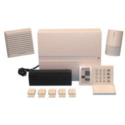 Entwickelnd drahtpack zentrale + batterie + tastatur + irdetektor + sirene