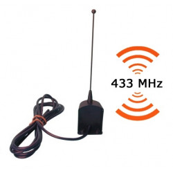 Aerial 433mhz aerial + 3m coaxial cable for gate door automation antenna aerial + gate door automation coaxial cable