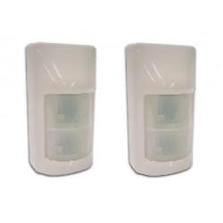 2 X Pir sensor mit double twin optics
