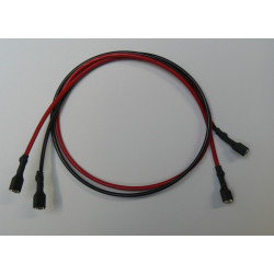 Battery cable with female 6.4mm female terminal for battery 12v4 12v5 6v4 6v6