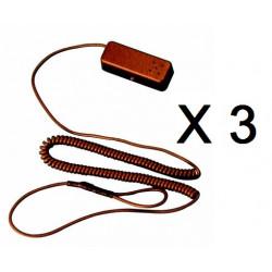 3 X Sistema de alarmas para productos de demostracion o tienda ham10 alarma antirobo eclats antivols