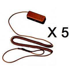 5 X Allarme per prodotti in esposizione in negozio ham10 protezione anti furto negozi espositori vetrine allarme anti furto merc