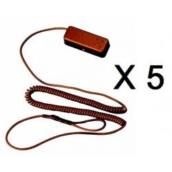 5 X Sistema de alarmas para productos de demostracion o tienda ham10 alarma antirobo eclats antivols