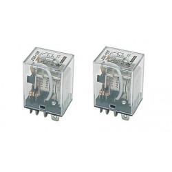 2 X Relais 220vac 2 no nc kontakte 10a unter 220vac elektrisches relais sicherheitstechnik elektrisches relais
