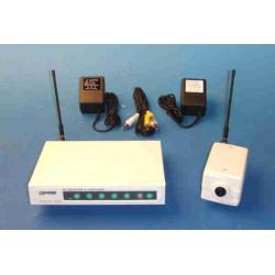 Emisor receptor audio video inhalambrico 200 metros 900mhz