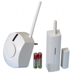 Pack carillon detecteur de passage sans fil (ja60n uc260 2 p15v) packs alarmes jablotron