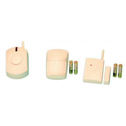 Pack alarme electronique compose de : 1 ja60p 1 ja60n 1 uc260 4 p15v packs alarmes jablotron