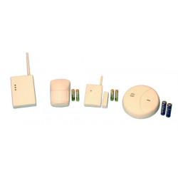 Pack alarme electronique compose de : 1 ja60p 1 ja60n 1 ja63s 1 uc216 4 p15v 2 r6p jablotron
