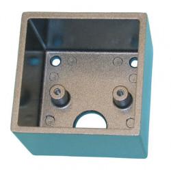 Caja metal para fijar para lector llaves magneticas lcmn cajas metales proteccion lectores llaves magneticas