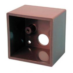 Caja en saledizo para lector llaves magnetica lcmn control de acceso cajas en saledizo control de accesos