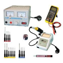 Kit sav pro electricite electronique installation electrique fer a souder outillage alimentation
