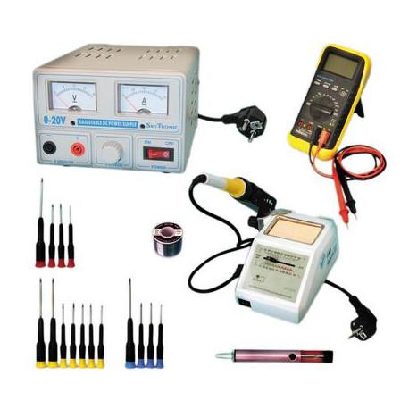 Kit servizo dopo vendita elettricita elettronico installazione elettrica ferro da saldare strumento collegamento