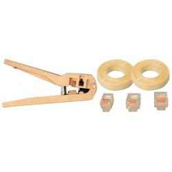 Telefonieinstallation pack telefonanschluss telefonverbindung telefon kabelverbindung telefon pabx kabel