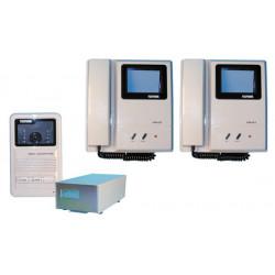 Intercom complete video doorphone for 2 apartments (w12xs, star8 not included) apartment video doorphone system video doorphone