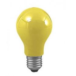 Ampoule standard couleur jaune 220v e27 25w eclairage de fete 230v 240v guirlande lumineuse