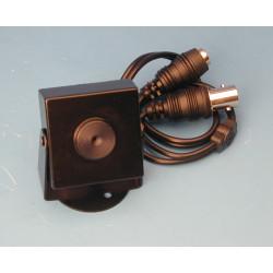 Camara blanco y negro 12v 1 3'' + objetivo 5.5mm pin + caja metalvigilancia videovigilancia sistema video b n camara