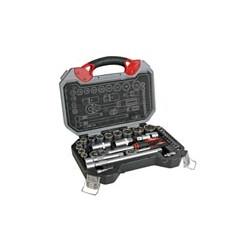 Clave Socket 32 PCS 2 1/2 1/4 trinquete mango hsetpro6 velas 16 / 21mm