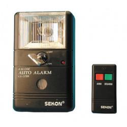 Alarma electronica para coche + encendedor cigarro kx378r alarma antirobo seguridad electronica alarma