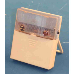 Illuminazione autonoma allarme automatico al rumore cellula fotoelettrica e microfono integrati (3 r6p non fornite)