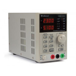 Programmable laboratory power supply - 0-30 vcc / 5A max - double LED display with interface
