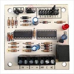 Circuit analyse electronique stp 456c 456c1 pour contact capteur volet roulant 456