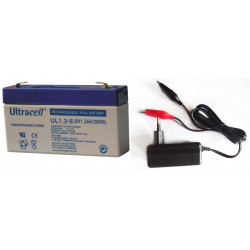 7.2vcc charger 220v 110v 0.5a 6v 1a 6w + 6v 1.3ah battery rechargeable battery motorcycle
