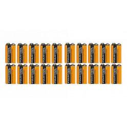 Lot de 20 piles alcaline 9v duracell procell mn 1604 6lr61 pour ze5 6lf22 am6 1604a 522