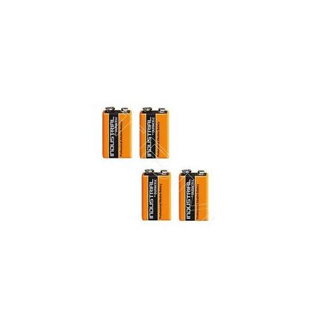 2 x 6LR61 9V Block Alkaline Batterie MN1604 2 Blister a 1 Batterie