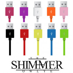 100 cm USB cable for iPhone 4 iPod cable charger syncronisateur