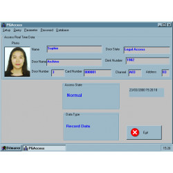 Software 2002 2003 software of access control for lcmon, lcmop magnetic card reader proximity badge reader softwares software 20
