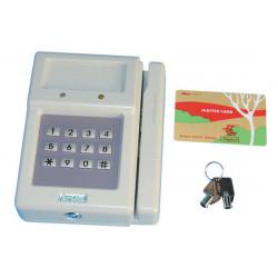 Lettore di badge magnetico per pc pg727w lettore carte magnetiche per computer
