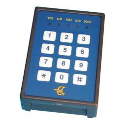 Lettore di badge magnetico per pc identificatore carte cartellino entrata per computer