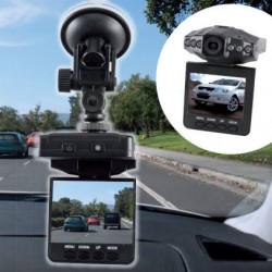 HD DVR 2.5' LCD Screen 6 IR LED Night Vision 720P Styling Video Car Camera Recorder Dvr Veicular Dashcam Video Registrator