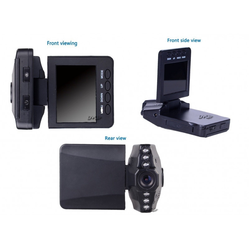 HD DVR 2 5' LCD Screen 6 IR LED Night Vision 720P Styling