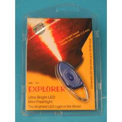 Key ring with led light white (only 1 available!} sbl 101
