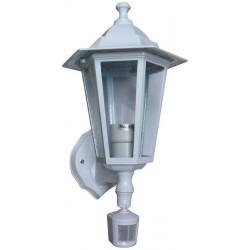 Linterna + detector por infrarrojos 220vca detector volumétrico infrarrojo