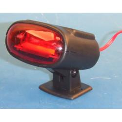 Luz de faro rojo 12v señalizacion