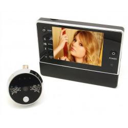 Caméra Oeilleton Ecran LCD Enregistreur Video 3.5 Porte Numérique TFT