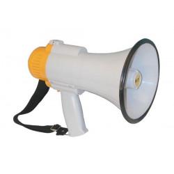 Megaphone 10w megaphone, 250 to 500m, ø160x250mm megaphone voice clear voice projection hand held megaphone power megaphone voic