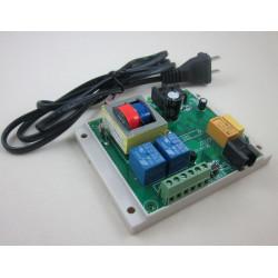 AC 220V 2 calzadas de Línea Telefónica Teléfono de control remoto del interruptor 10 AMP Junta Relay