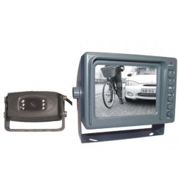 Pack systeme surveillance video 12v recul automobile camion autobus car 1 moniteur  1 camera etanche