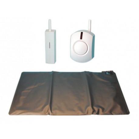 Pack mat pressure mat no 700x400mm mat contact pressure mat contacts +  wireless bell - Eclats Antivols