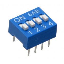 Mini DIP-Schalter 4-Stufen-Schalter