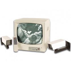 Kit video vigilancia 4 canales con 2 camaras y monitor 12'' video vigilancia camaras monitores