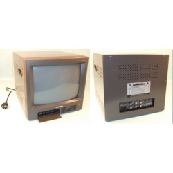 Monitor vigilancia video color 14'' 34cm 400l audio 220vca 2 entradas & 1 salida video audio