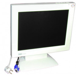 Moniteur video plat couleur 15'' 1024x768(xga) tft (220vca) ecran video ordinateur moniteurs